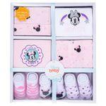 Conjunto-de-Roupinhas---Kit-Presente-com-7-Pecas---Minnie---Disney---RN-embalagem
