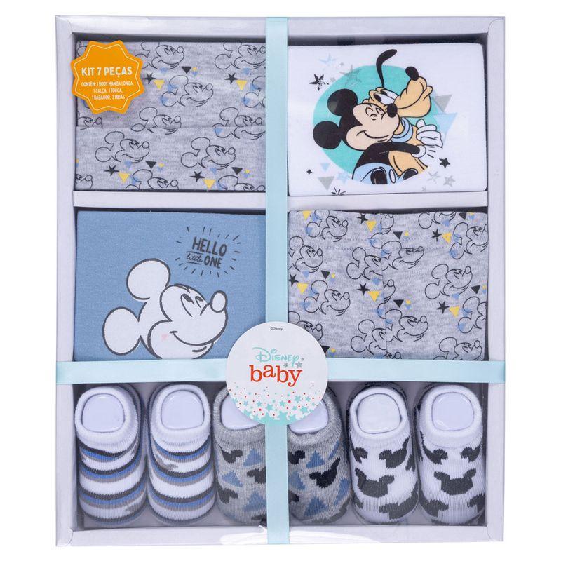 Conjunto-de-Roupinhas---Kit-Presente-com-7-Pecas---Mickey---Disney---RN-3