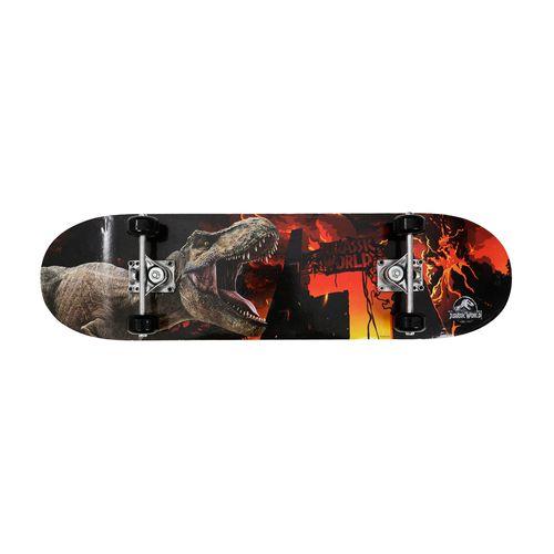 Skate - Jurassic World - Portal - Preto - Froes