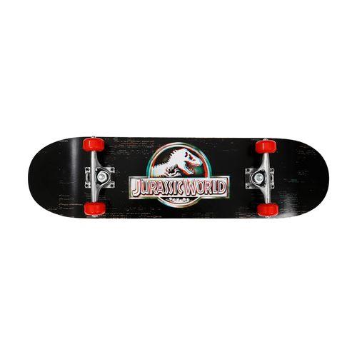 Skate - Jurassic World - Glitch - Preto e Vermelho - Froes