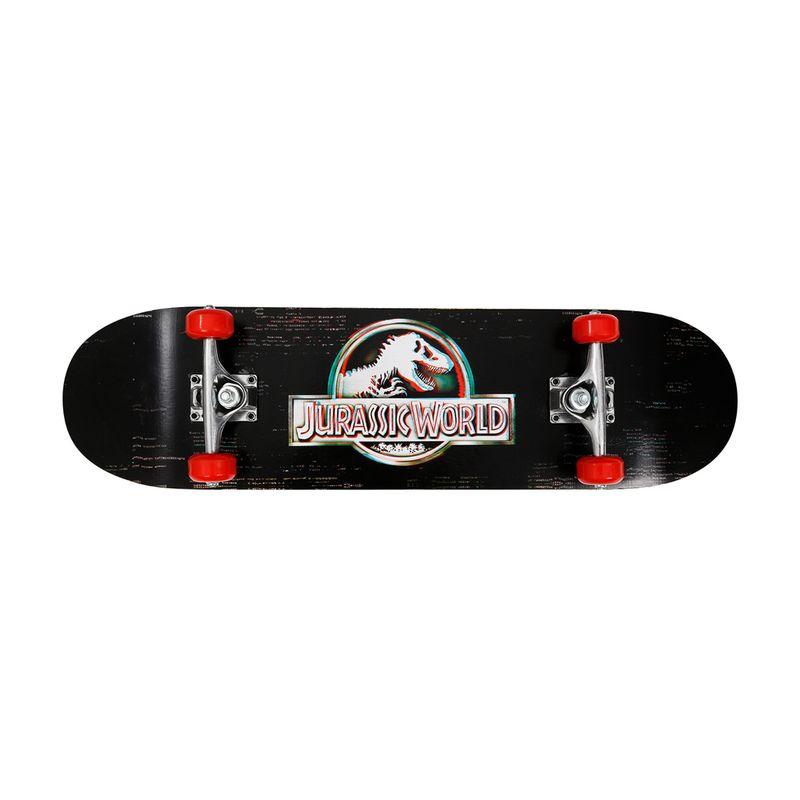 Skate---Jurassic-World---Glitch---Preto-e-Vermelho---Froes-0