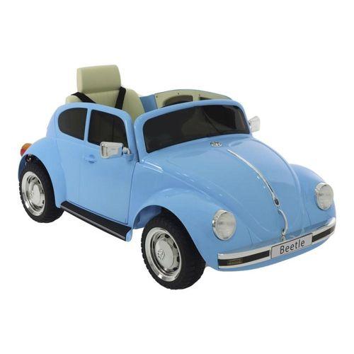 Carrinho Elétrico Beetle Belfix Controle Remoto Azul