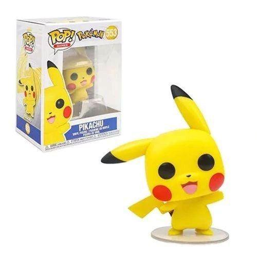 Figura Colecionável - Funko POP - Pokémon - Pikachu - Funko