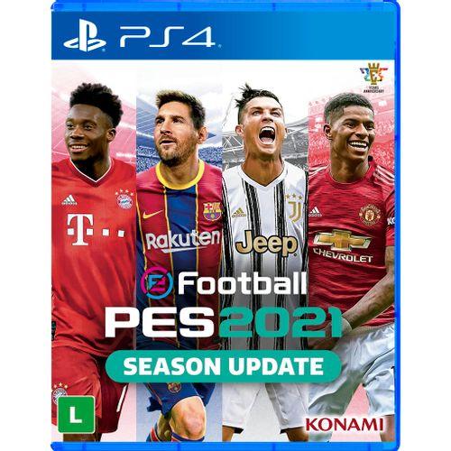Jogo PS4 - PES 2021 - Sony