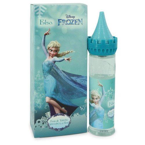 Perfume Feminino Frozen Elsa Disney 100 ML Eau De Toilette (Castle Packaging)