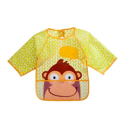 Babador Com Manga - Macaco - Multikids
