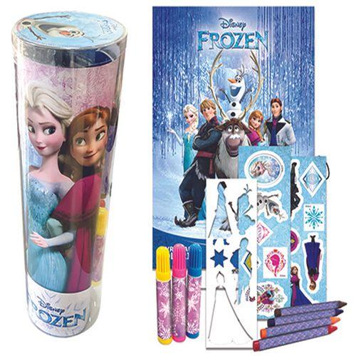 Livro Infantil - Tubo Divertido - Disney - Frozen - Histórias para Colorir - DCL Editora