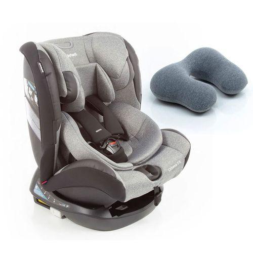 Kit de Cadeira Para Auto - 0 a 36 Kg - Ottima FX - Grey Brave e Almofada para Pescoço By FOM - Infanti