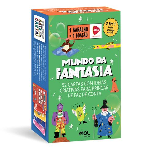 Baralho Infantil - Caixinha Faz de Conta - Ri Happy - Mol