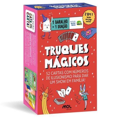 Baralho Infantil - Caixinha de Mágicas - PB Kids - Mol