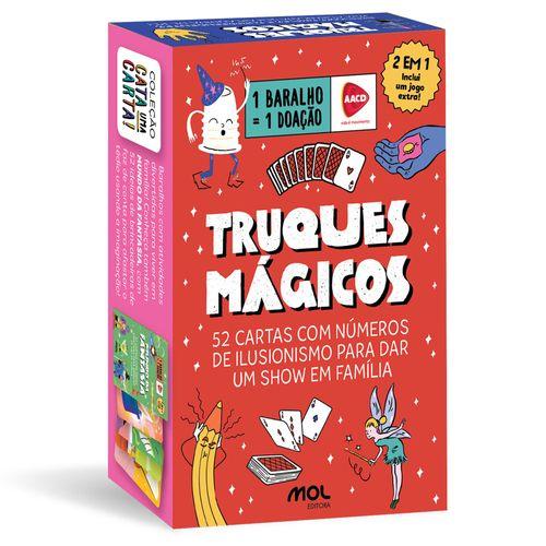 Baralho Infantil - Caixinha de Mágicas - Ri Happy - Mol