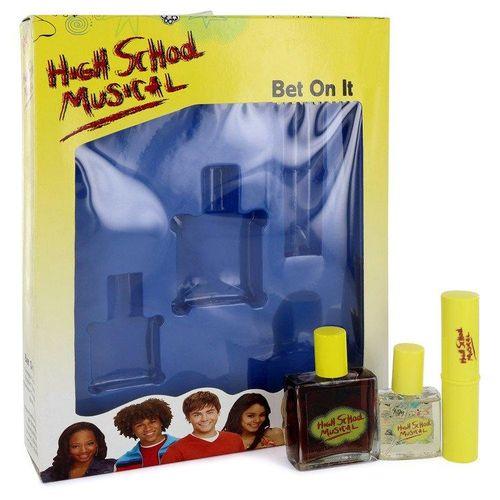 Perf.Cx.Pres.Perf.Femin.High School Musical Disney 50 ML Cologne + 15 ML Pocket + 7 ML Shimmer Barra
