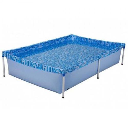 Piscina 1000l Estruturada Mor Cor:Azul