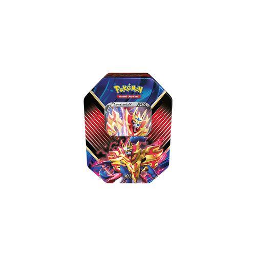 Cards Pokémon - Deck Lata - Lendas De Galar - Zamazenta V - Copag