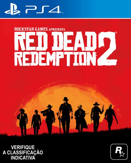 Jogo PS4 - Red Dead Redemption II - Sony