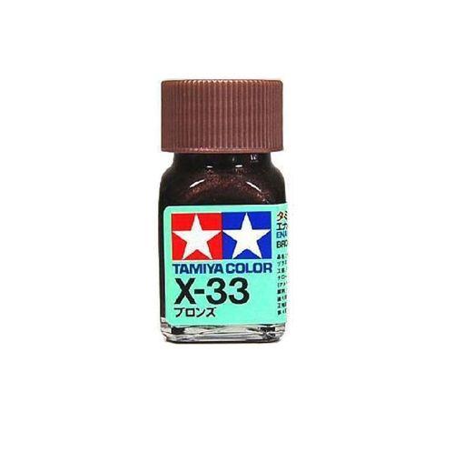 X33 ENAMEL BRONZE 10ML TAM80033