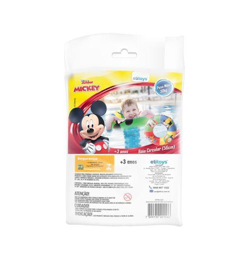 Acessórios De Praia e Piscina - Boia Circular Inflável - 56Cm - Disney - Mickey