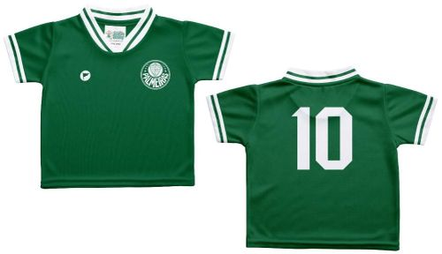 Camiseta Bebê Palmeiras Verde - Torcida Baby