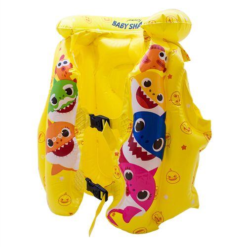 Acessórios De Praia e Piscina - Colete Salva - Vidas Inflável - Baby Shark - Toyng