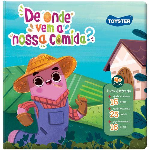 Livro Brinquedo - De Onde Vem a Nossa Comida? - Toyster