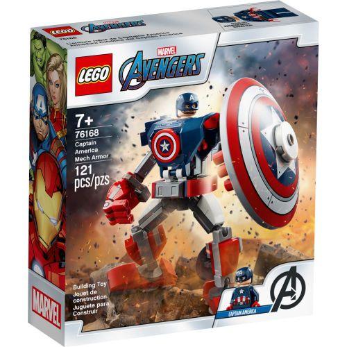 LEGO Avengers - Armadura Robô do Capitão America - 76168