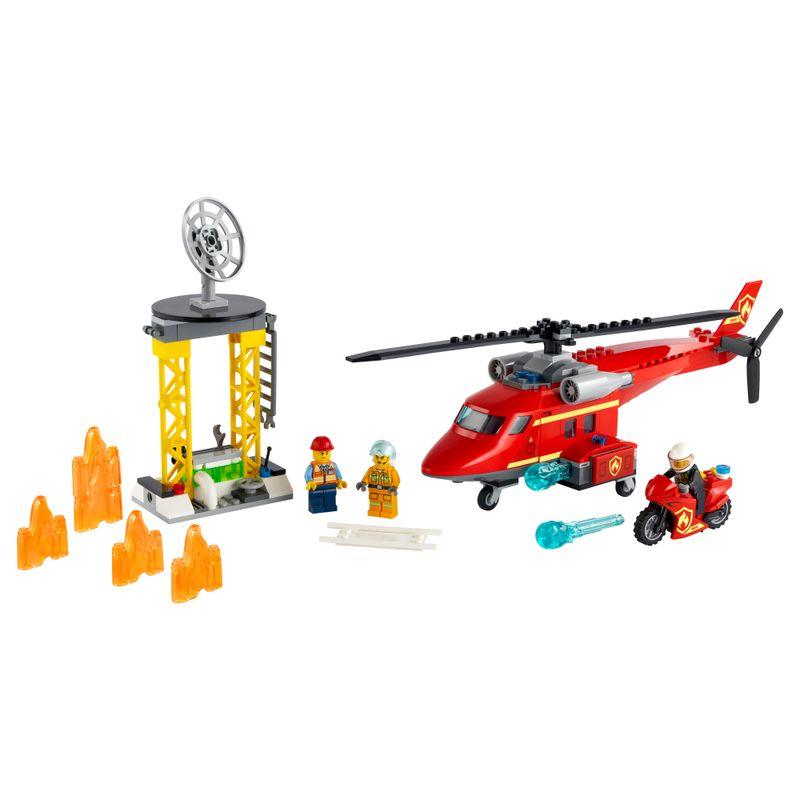 LEGO-City---Helicoptero-de-Resgate-dos-Bombeiros---60281--1