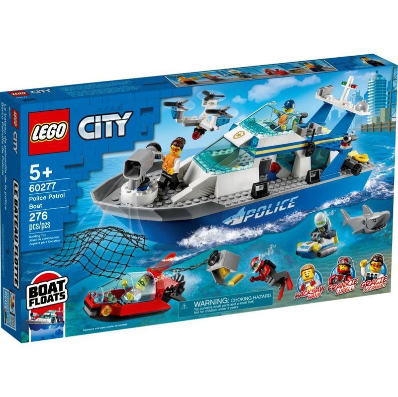 LEGO-City---Barco-da-Patrulha-da-Policia---60277--0