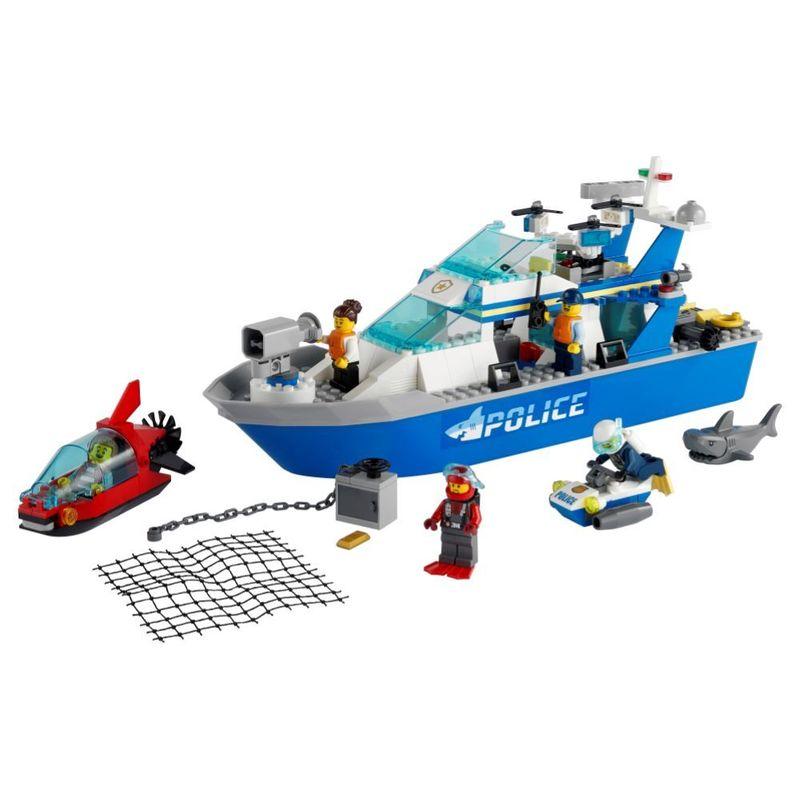 LEGO-City---Barco-da-Patrulha-da-Policia---60277--1
