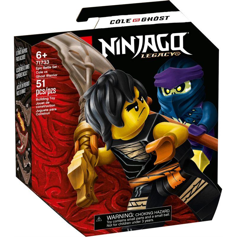 LEGO-Ninjago---Conjunto-de-Combate-Epico---Cole-vs-Guerreiro-Fantasma---71733-0